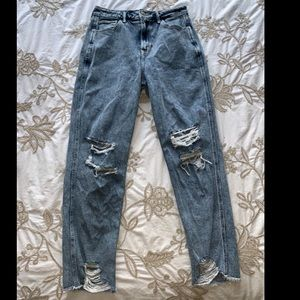 Ultra High Rise Mom Jeans